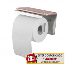 Ottimo Chrome Toilet Paper Holder Stainless Steel Wall Mounted