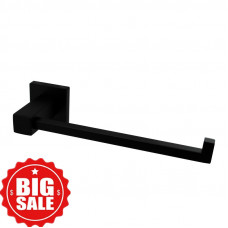 Ottimo Nero Black Towel Ring 250mm