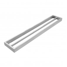 Omar Chrome Double Towel Rails 600mm