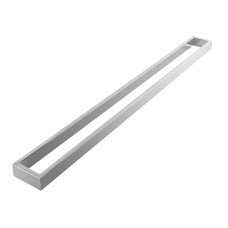 Omar Chrome Single Towel Rails 800mm
