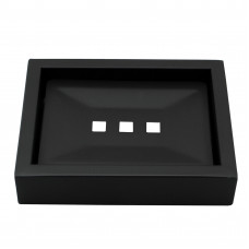 Omar Nero Black Soap Dishes Holder