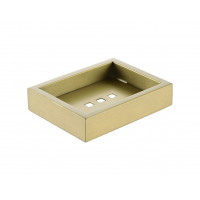 Omar Brushed Yellow Gold Soap Dishes Holder