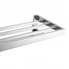 Omar Chrome Double Towel Holder 600mm