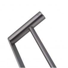 Gunmetal Grey Double Towel Rail 600mm Stainless Steel 304 Wall Mounted