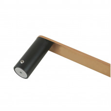 Esperia Black & Rose Gold Single Towel Holder 300mm Stainless Stee..