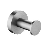 Euro Pin Lever Round Brushed Nickel Stainless S..