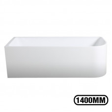 1400x750x610mm Corner Bathtub Left Corner Back to Wall Acrylic  White ..