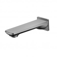 Esperia Brushed Nickel Bathtub Spout Basin Spout Water Spout Wall Spou..