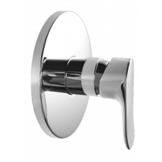 Euro Round Chrome Shower/Bath Wall Mixers