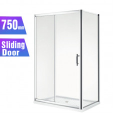 1100*750*1900mm Sliding door Rectangle Shower Box