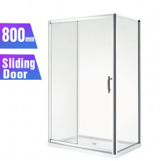 1200*800*1900mm Sliding door Rectangle Shower Box