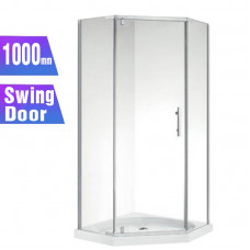 1000*1000*1830mm Swing Door Diamond Shower Box