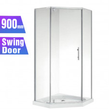 900*900*1900mm Swing Door Diamond Shower Box