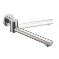 Euro Round Chrome Bathtub/Basin Swivel Wall Spo..