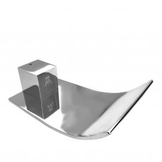 Omar Chrome Waterfall Bathtub/Basin Wall Spouts Tapware Bathtub Faucet