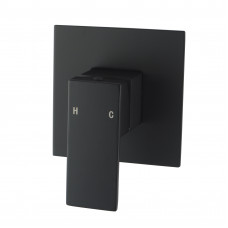 Ottimo/Omar Nero Black Shower Wall Mixers