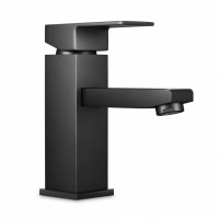 Ottimo Nero Black Basin Mixer Tap Black Taps Ba..