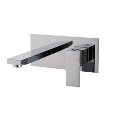 Ottimo/Omar Chrome Bathtub/Basin Wall Mixer With Spouts Tapware Bathtu..