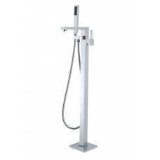 Ottimo Chrome Freestanding Bath Mixer Taps With Hand held Shower Tapware Bathtub Faucet