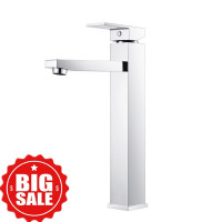 Ottimo Chrome Tall Basin Mixer Taps Bathroom Ta..