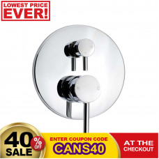 Euro Round Chrome Shower/Bath Mixers Diverter