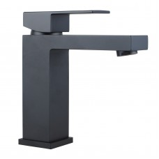 Ottimo Nero Black Bathroom Basin Mixer Tapware
