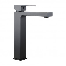 Ottimo Solid Brass Square Black Tall Basin Mixer Tap Vanity Tap Bench ..