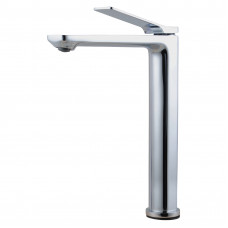 Rumia Bathroom Chrome Tall Basin Mixer Tap Solid Brass Vanity Tap