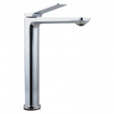 Bathroom Chrome Tall Basin Mixer Tap