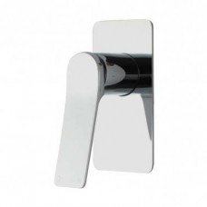 Chrome Shower Wall Mixer Solid Brass Watermark