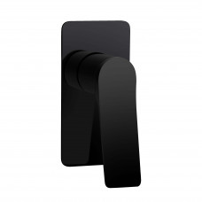 Rumia Shower Wall Mixer Solid Brass Watermark Matt Black