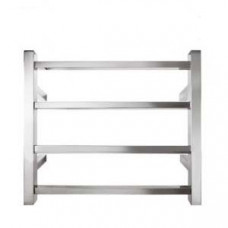 600Wx500Hx120mm 4 Bar Stainless Steel Heated Towel Rail