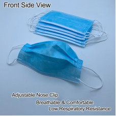 50pcs Anti Virus Disposable Non-Woven 3 layer Face Mask Protective Med..