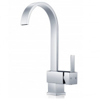 Gooseneck Chrome Kitchen/Laundry Sink Mixer Tap..