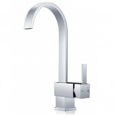 Gooseneck Chrome Kitchen/Laundry Sink Mixer Taps Swivel Kitchen Tapwar..