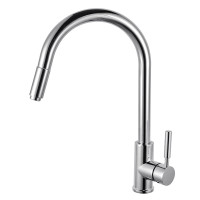 Euro Round Chrome 360° Swivel Pull Out Kitchen ..