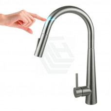 Euro Brushed Nickel Solid Brass Round Mixer Tap with Smart Touch and 3..