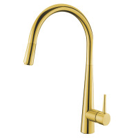 Euro Round Golden Pull Out Kitchen/Laundry Sink..