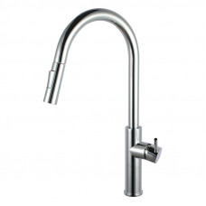 Classic  Round Chrome Standard Kitchen/Laundry Sink Mixer Taps Swivel ..