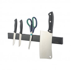 Black Magnetic Knife Block Holder 300mm