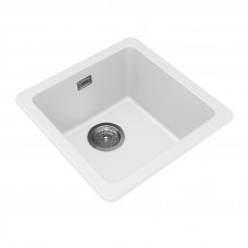 422*422*203mm White Granite Quartz Stone Kitchen/Laundry Sinks Single ..