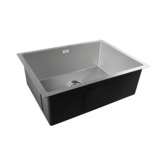 600x450x205mm 1.2mm  Stainless Steel Handmade Single Bowl Top/Flush/Undermount Kitchen/Laundry Sink With Overflow Corrosion Resistant Oilproof Easy To Clean Scratch Resistant