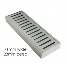 100-5600mm Lauxes Aluminium Floor Grate Drain Any Size Indoor Outdoor