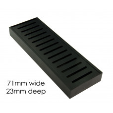 100-5600mm Lauxes Aluminium Midnight Floor Grate Drain Indoor Outdoor