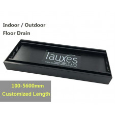 100-5600mm Lauxes Aluminium Slimline Tile Insert Floor Grate Drain Any..