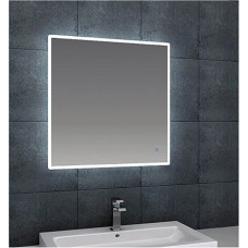 450x750mm Rectangle Shape LED Mirror with Demister