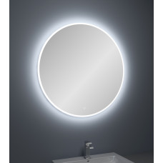 900mm Round Shape LED Mirror with Demister