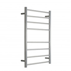 600Wx1000Hx120D  8 Bar Round Heated Towel Rail