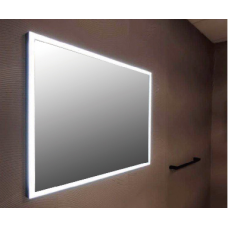 1200x700mm Rectangle Shape Black Frame LED Mirror with Demister