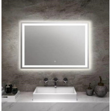 900x700mm Rectangle Shape LED Mirror with Demister